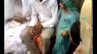 Жених избил невесту на свадьбе