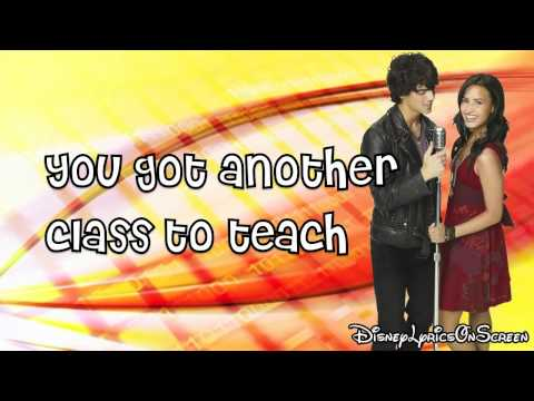 Camp Rock 2 - You're My Favorite Song (Lyrics On Screen) HD