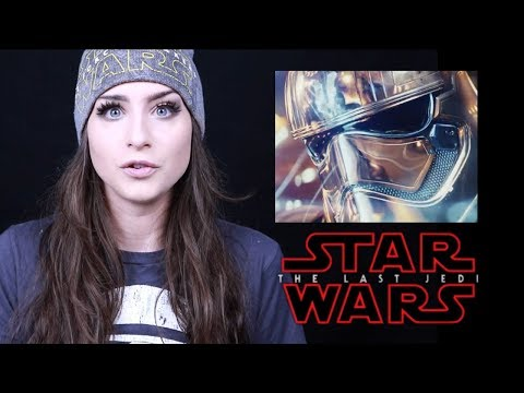Star Wars: The Last Jedi TRAILER  REACTION VIDEO