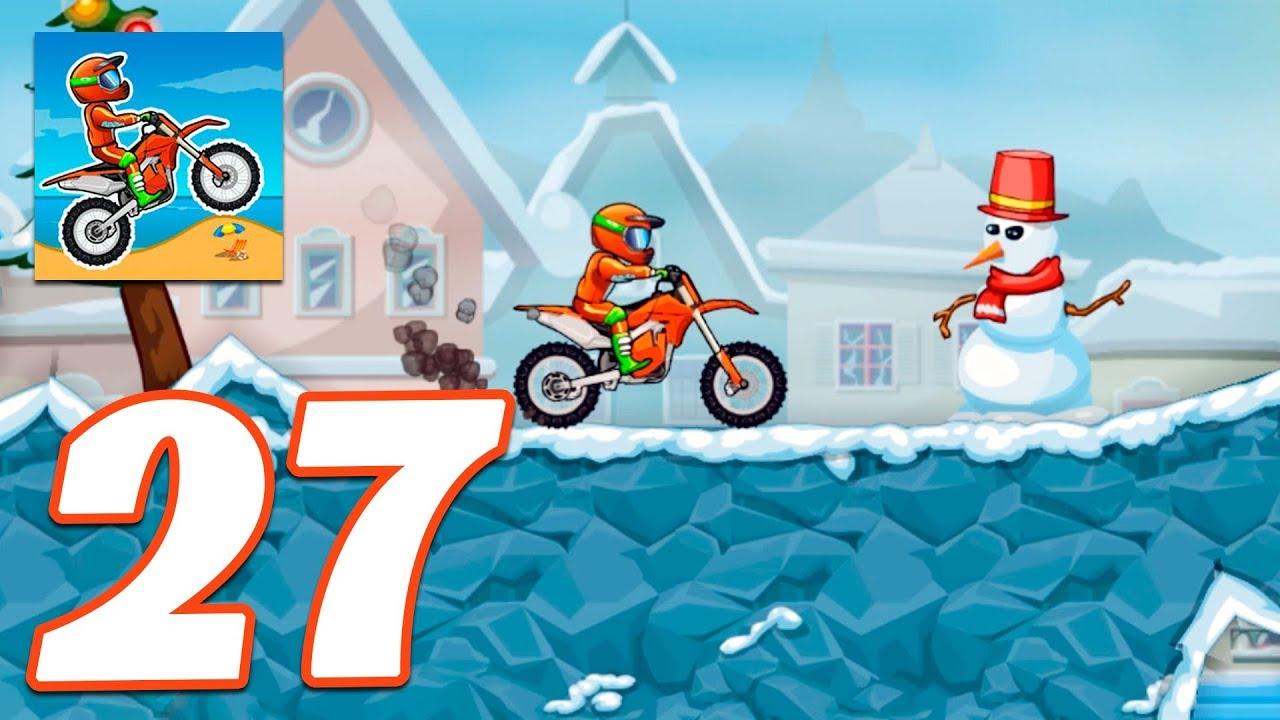 Bike racing games - Moto X3M Bike Race Game and Stunts Racing