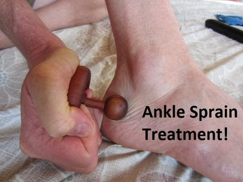 ANKLE PAIN or Ankle SPRAIN?  Sprained Ankle Treatment!