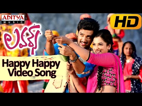 Happy Happy Full Video Song    Lovers Movie    Sumanth Aswin, Nanditha