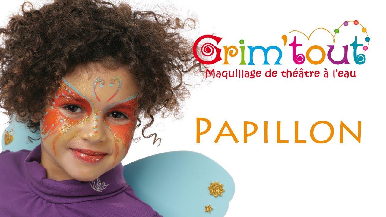 Modele Maquillage Enfant Papillon Youtube