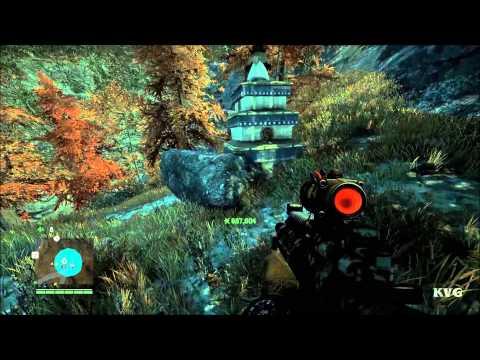 Far Cry 4 - Mask Of Yalung Location - #49 – Sapha Pond | X:710 Y:778 (PC HD) [1080p]
