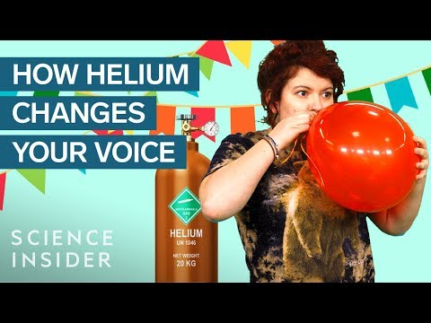 What's Really Happening When You Inhale Helium