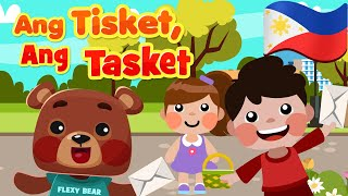 A Tisket A Tasket in Filipino | Nursery Rhymes & Awiting Pambata Songs