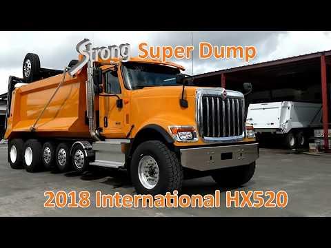 New International HX520 | Super 18 Dump Truck / 7-Axle Super Dump for Sale
