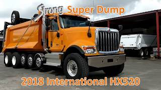 New International HX520 | Super 18 Dump Truck / 7-Axle Super Dump for Sale