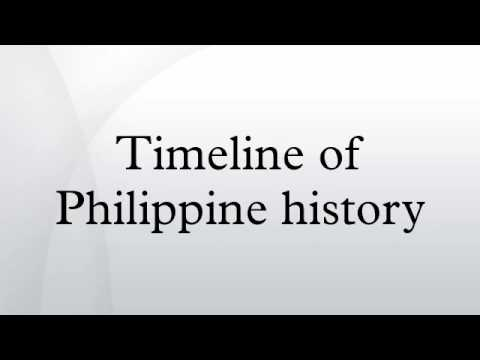 Timeline of Philippine history