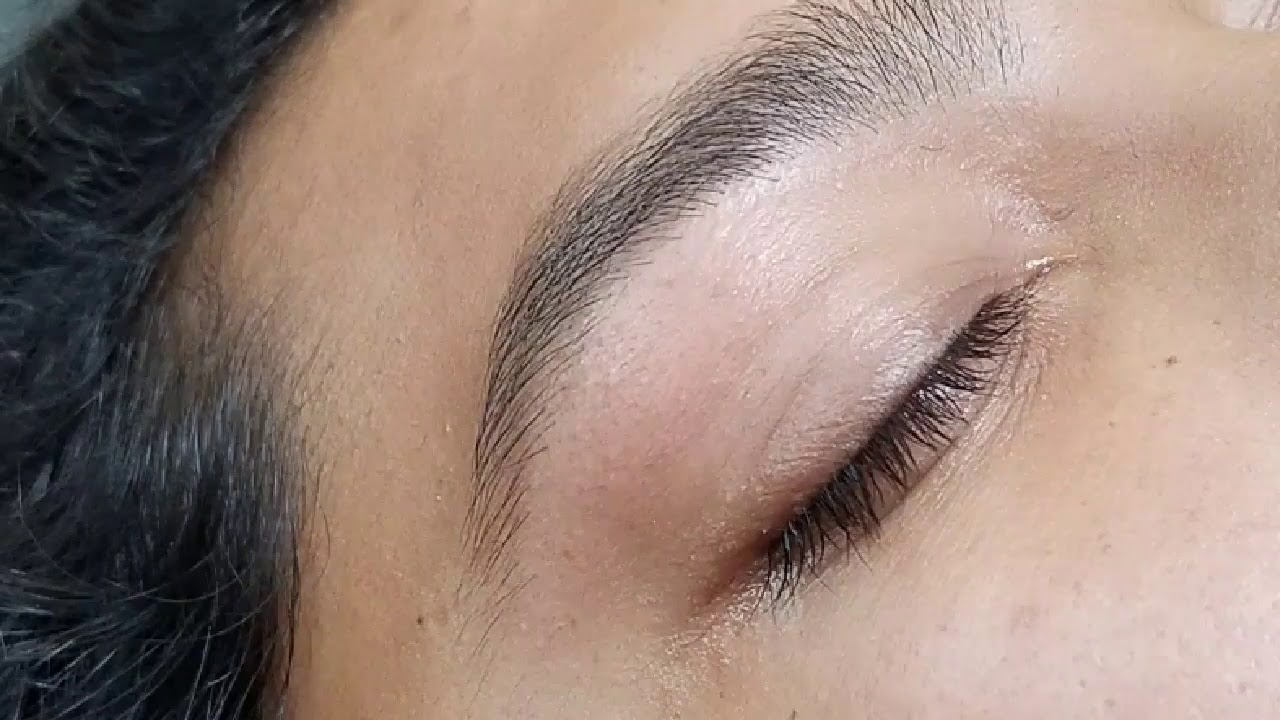 Eyebrows Threading Youtube
