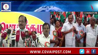 No intention of merging our party with Rajini as of now- Tamizharuvi Maniyan