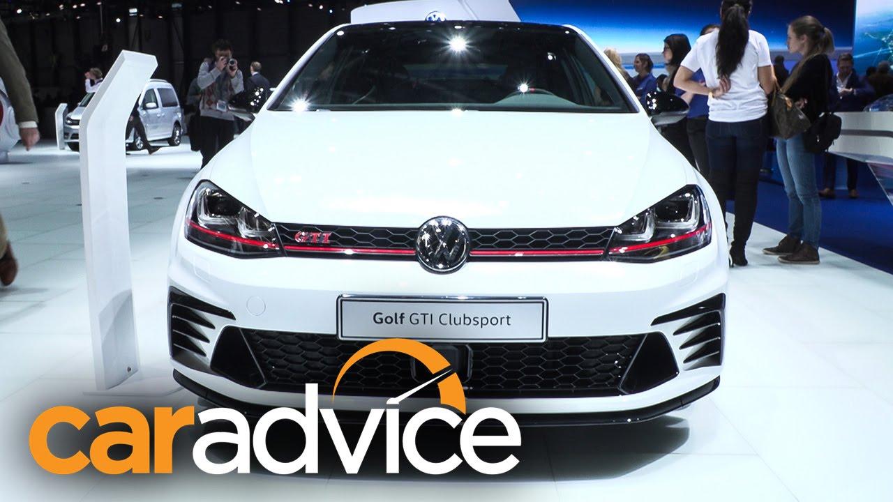 Volkswagen Golf Gti 40 Years Clubsport 2016 Geneva Motor Show