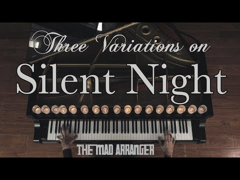 Jacob Koller  3 Variations on Silent Night  Advanced Piano  with Sheet Music