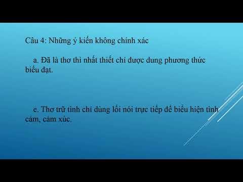 Ôn tập tác phẩm trữ tình- Ngữ văn 7/ Long Chung