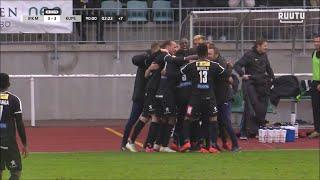 Ottelukooste: IFK Mariehamn - KuPS 3-4