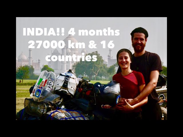 Italy to Australia with motorcycle. 4 months on the road. 2 Trav ATW