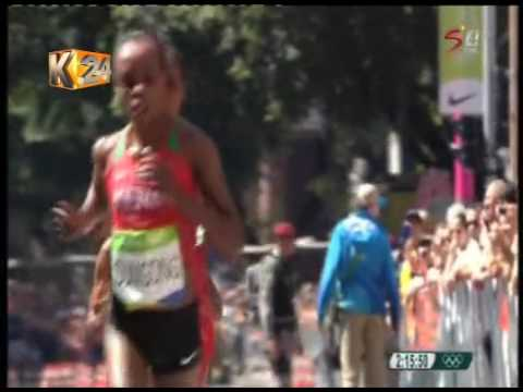 Jemima makes history after winning Kenya's first ever gold in women's marathon