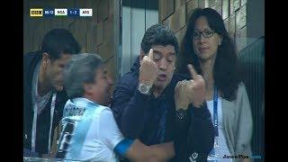 Download Video Aksi diego maradona acungkan jari tengah laga Argentina vs Nigeria MP3 3GP MP4