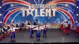 Австралия имеет талант - Украинский гопак(Український національний танець, вид бойового мистецтва козаків, справжня традиція українського народу., 2012-02-02T18:42:35.000Z)