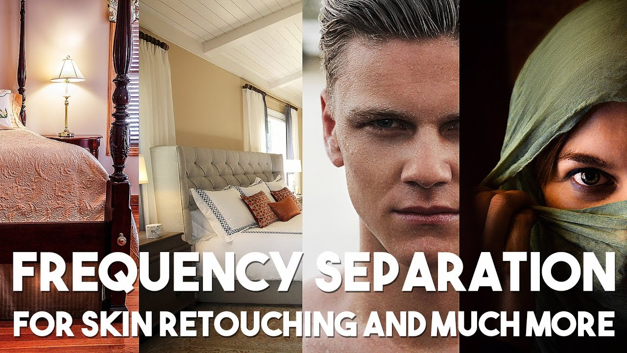 The Great Power of Frequency Separation in Photoshop | For Skin Retouching and Much More