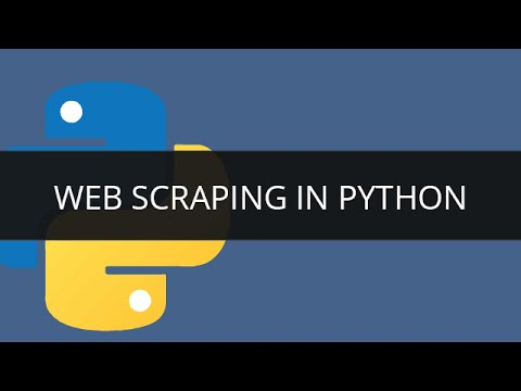 Web Scraping in Python using Beautiful Soup   Edureka - YouTube