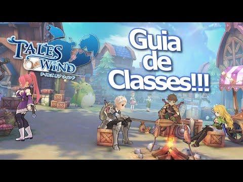 Tales Of Wind: Guia de classes básico!!! Guia para começar bem!!! Classes em LaPlace M!!! - Omega Play