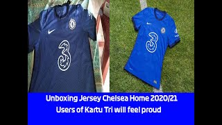 UNBOXING AND REVIEW JERSEY CHELSEA HOME 2020-21