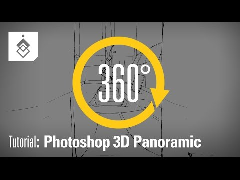 Tutorial: Photoshop 3D Panoramic - Version 1