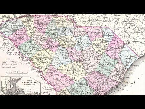 South Carolina History and Cartography (1855)