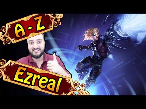 A-Z EZREAL, BLUE BUILD ADC is back | League of Legends