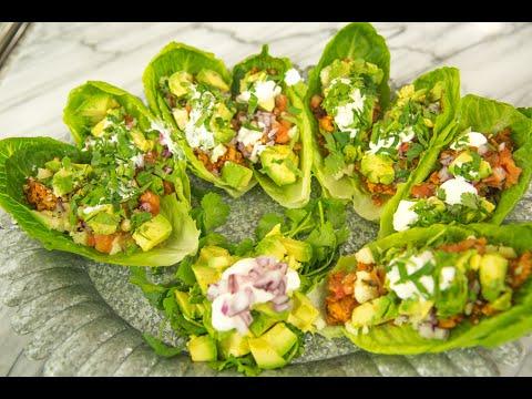 Poultry Taco Lettuce Wraps