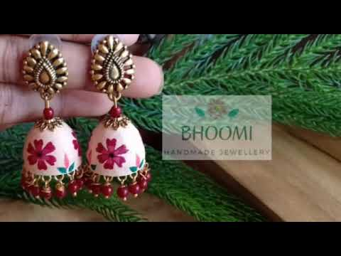 Handmade clay|paper jewellery| Designs|
