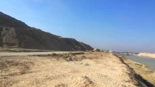 قناة الاتصال بالكيلو 76 وأعمال الحفر بالماء والحفر الجاف
