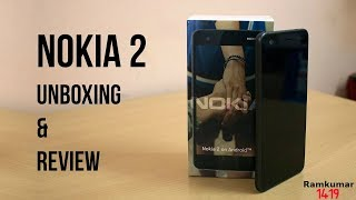 Nokia 2 unboxing and Review in tamil