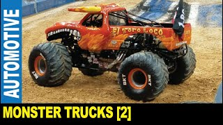 Monster Trucks [Part 2] modified suspension tires freestyle competition   Jarek in Tampa Florida USA