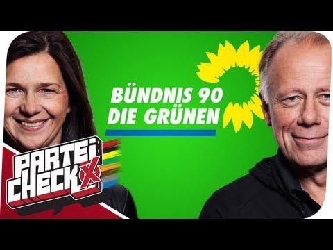 Parteicheck: Bündnis 90/ Die Grünen