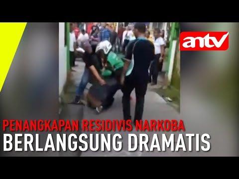 [ANTV]Berusaha Kabur Penangkapan Residivis Narkoba Berlangsung Dramatis Mp3