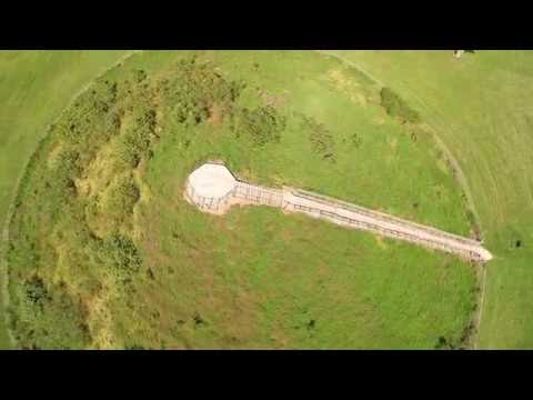 Aerial Tour of The Miamisburg Mound in UHD 4k