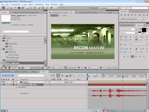 After Effects Tutorial 91  DVD Authoring