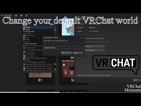 VRChat Tutorial - Launch into another world instead of hub on login (VRChat Tips & Tricks)