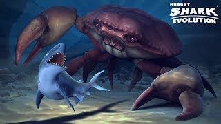 Hungry Shark Evolution COMO MATAR AL CANGREJO NEGRO GIGANTE! EL CANGREJO VOLADOR!? Free HD Video