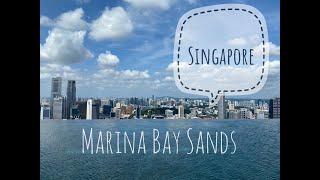 [싱가포르 여행] 마리나베이샌즈 호텔 수영장에 왔어요.…