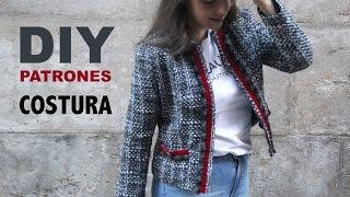 DIY Costura y patrones: Chaqueta de mujer