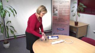 Pat Testing Using A Battpat - First Stop Safety Training Video