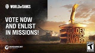 The Golden Joystick Awards 2018: Vote Now & Enlist in Missions!
