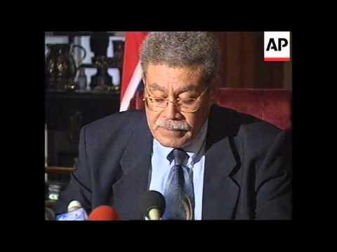 FIJI: NEW PM QARASE TAKES POWER