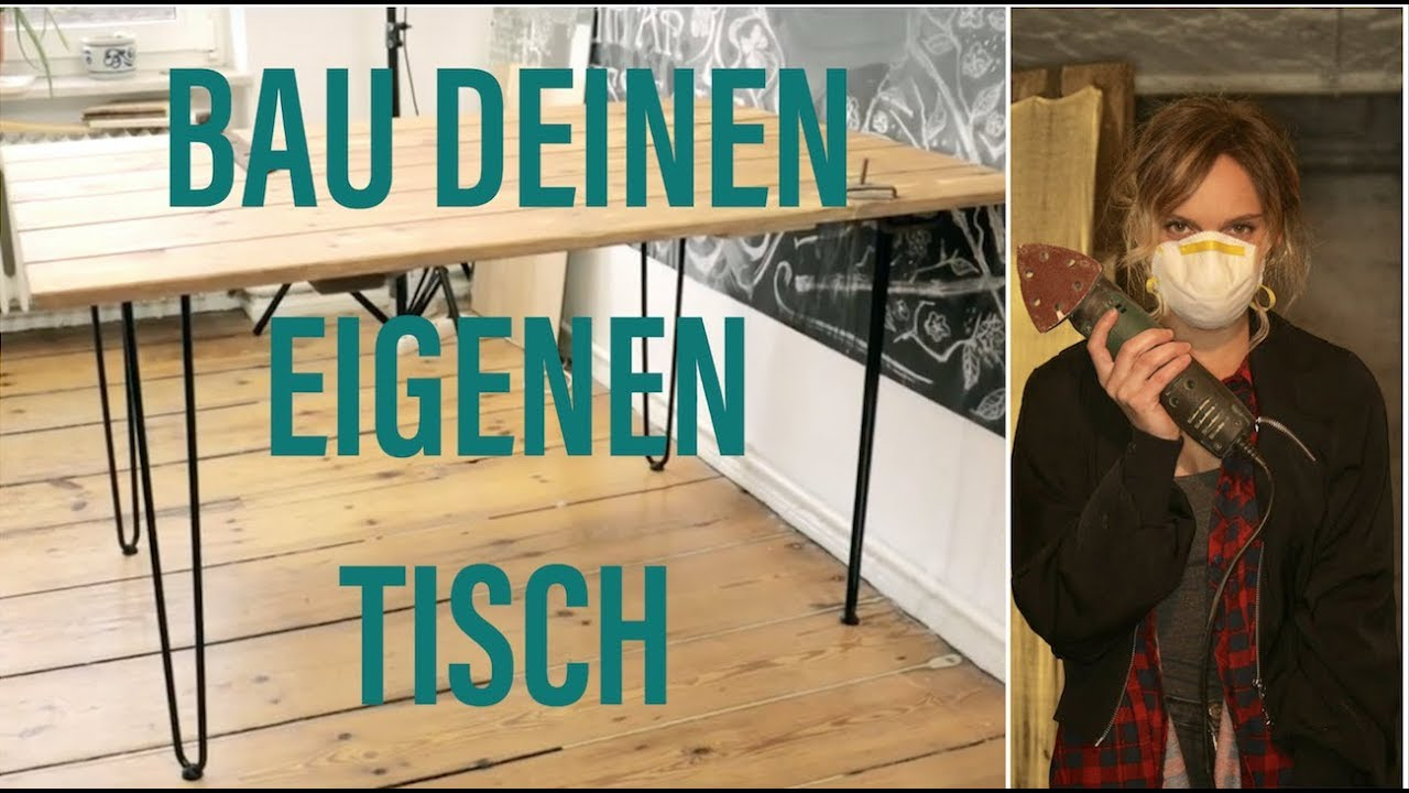 tisch aus alter t r diy upcycling youtube. Black Bedroom Furniture Sets. Home Design Ideas