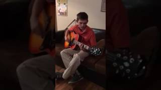 "Matthew Detrana covers ""singing low"" by the fray"