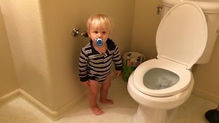 Baby Floods the House!