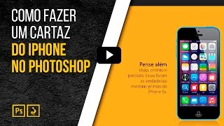 Como fazer um cartaz do iPhone no Photoshop | Studio Online